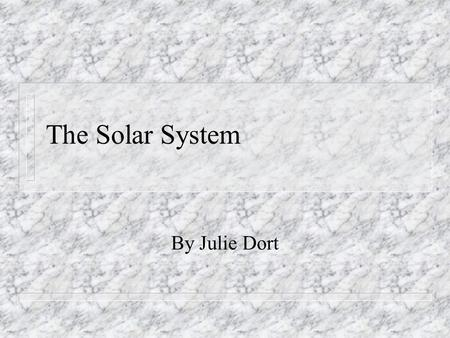 The Solar System (The Important Book). All the planets