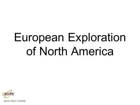 Notes: Unit 2: Exploration & Colonization #2 Colonization