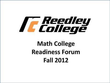 Redesigning Developmental Mathematics and Precalculus