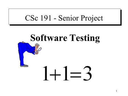 Writing Test Cases Why writing and tracking test cases is