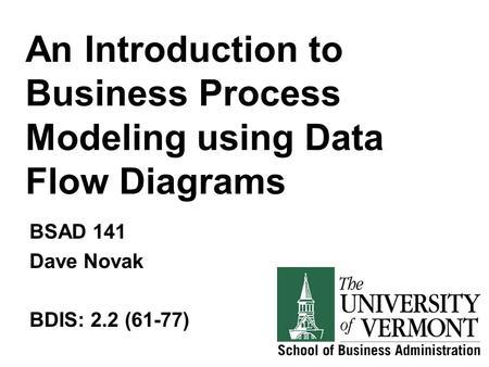 DFD Examples Yong Choi BPA CSUB. Creating Data Flow