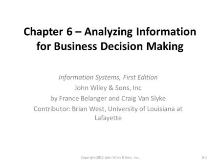 MEM 612 Project Management Chapter 1 The World of Project