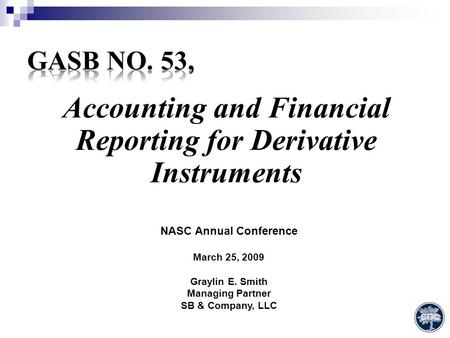 GASB 40 Implementation Audit Issues. General Disclosure