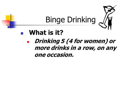 BINGE DRINKING IN WOMEN AGED ppt video online download