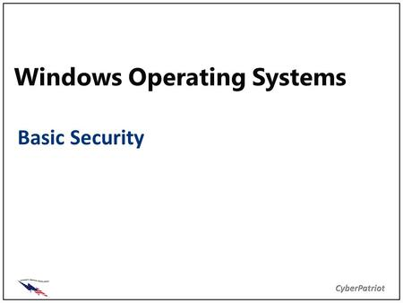 70-411: Administering Windows Server 2012 Chapter 5