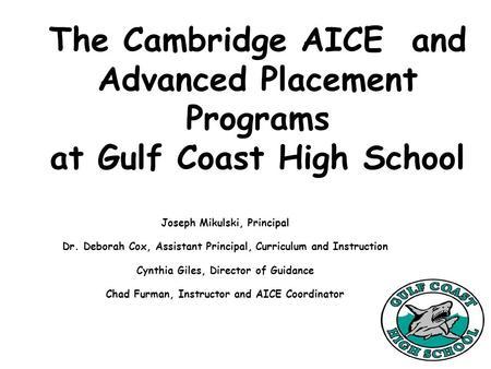 AP Environmental Science Riverbend High School *Start your