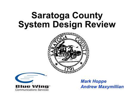 St. Mary's County Communications Interoperability 1