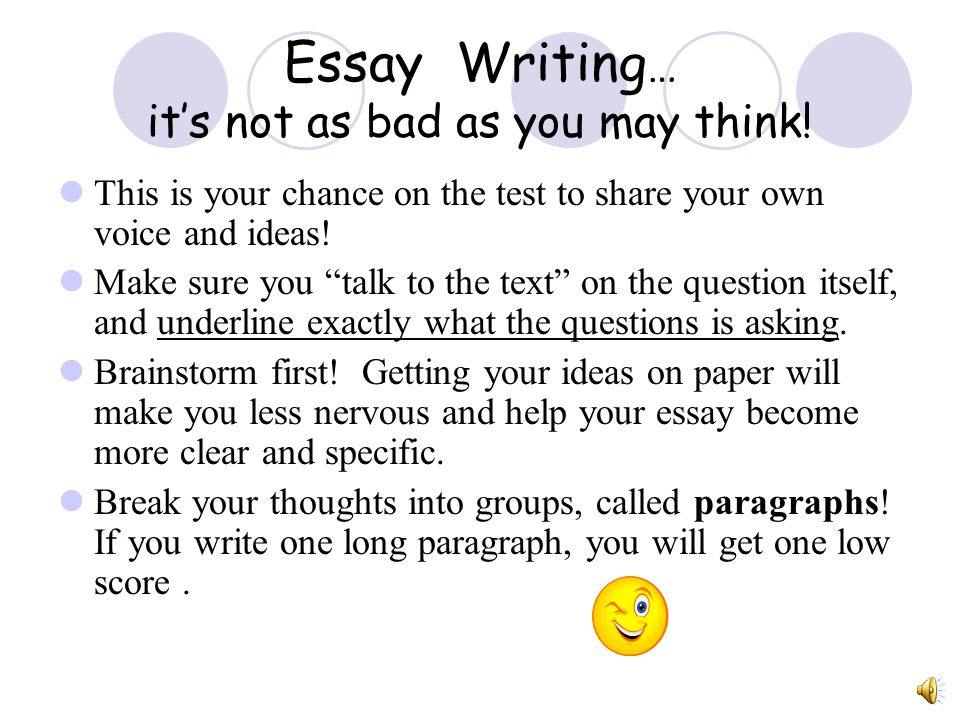 Session 4 Writing Applications Writing Essays  ppt