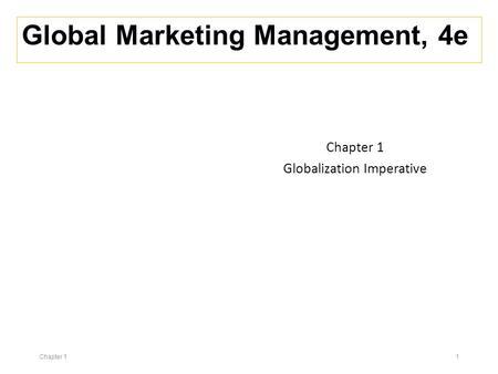 MH BOUCHET/CERAM-Global Finance Country Risk Analysis