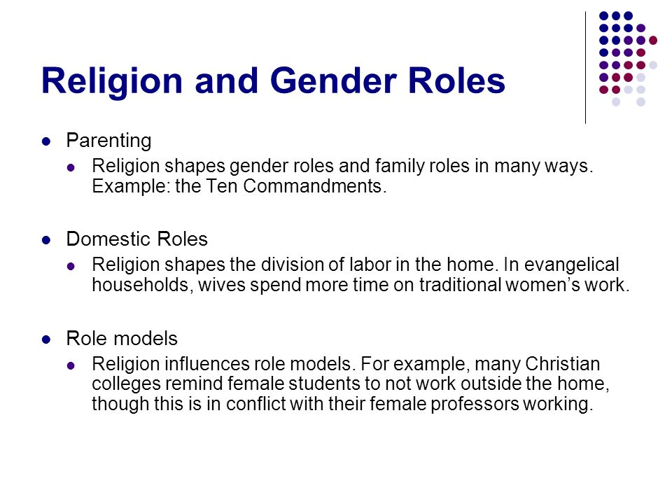 Gender Roles In Religion Essay Term Paper Academic Writing Service