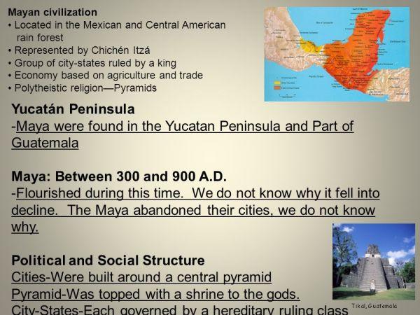 Mesoamerican Civilizations ppt download