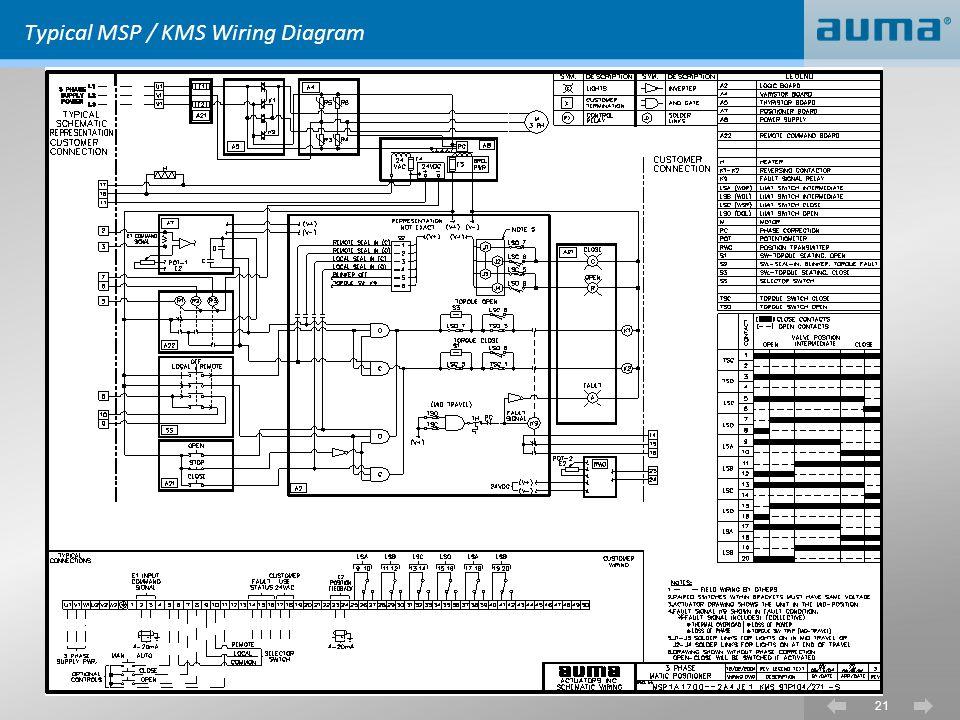 control valve wiring diagram