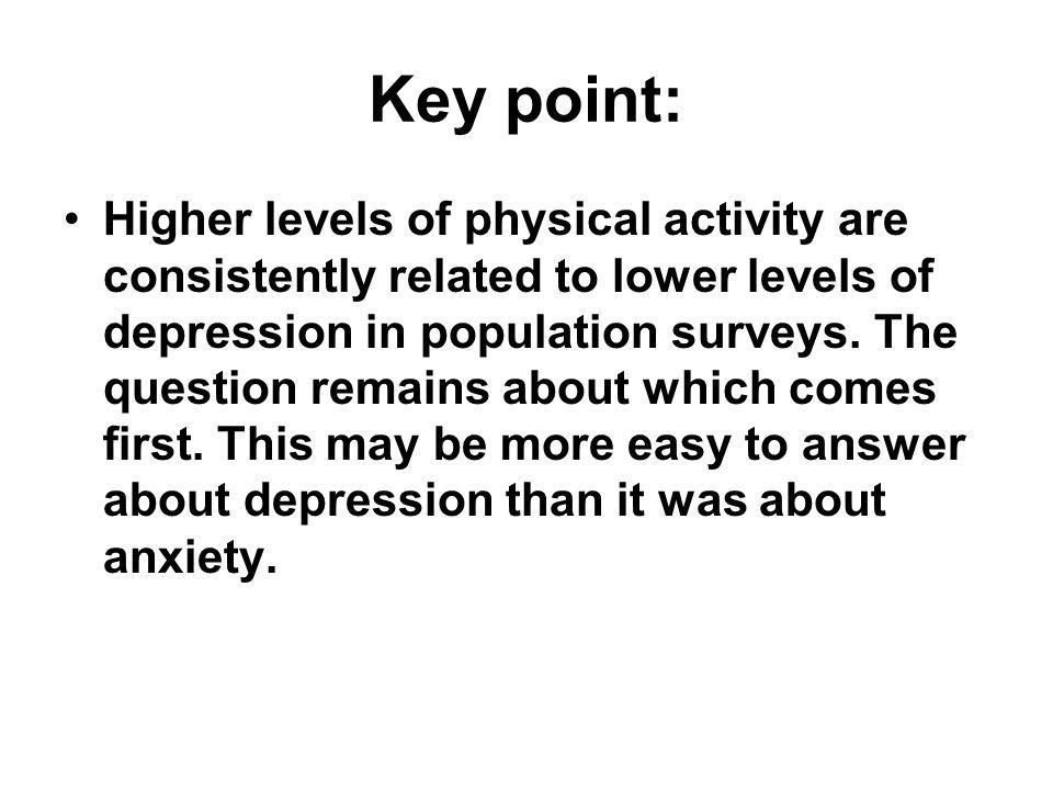 Chapter 9: The relationship between physical activity and