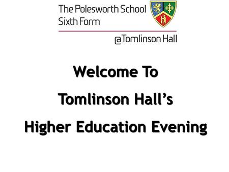 Year 10 Aspirations Evening Supporting your daughter to