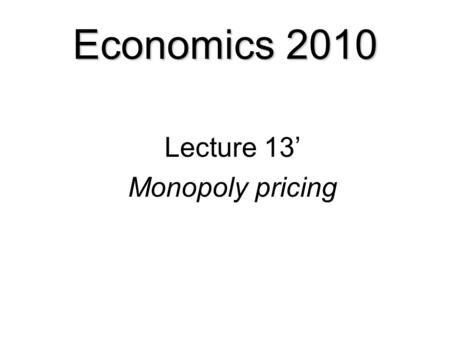 Lectures in Microeconomics-Charles W. Upton Price