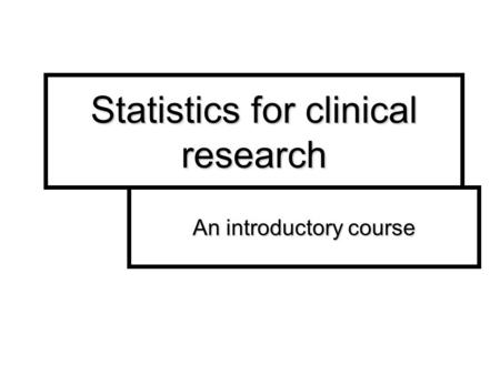 Choosing Appropriate Descriptive Statistics, Graphs and