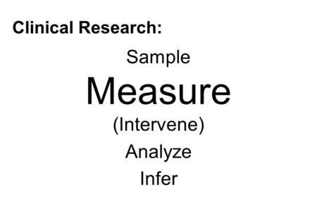 Bias in Clinical Research: Measurement Bias