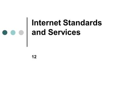 Chapter 11: Networking with TCP/IP and the Internet