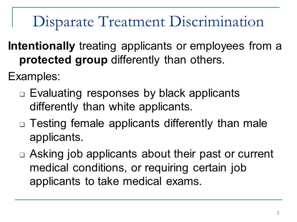 Recognizing Discriminatory Pre Employment Inquiries Ppt
