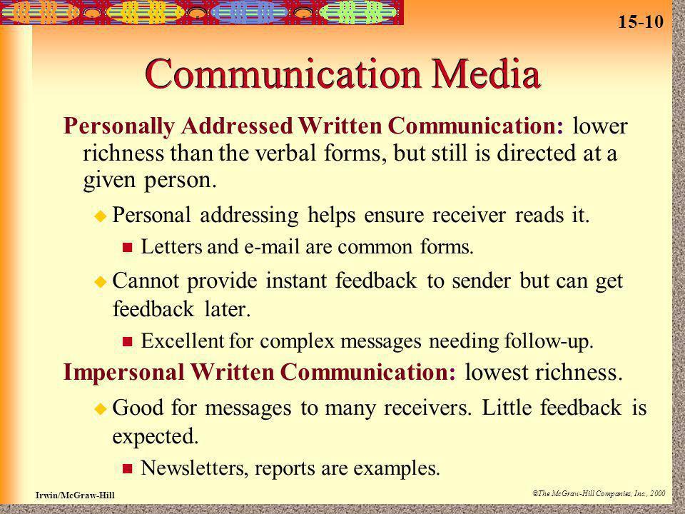 15 Communication  ppt video online download