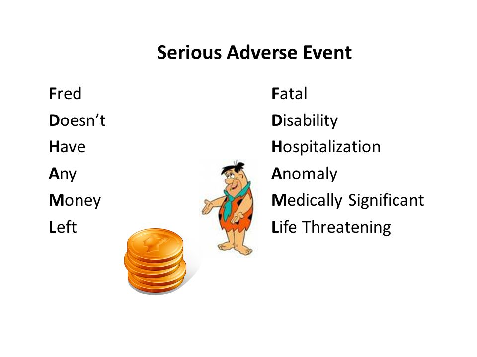 Adverse Events And Serious Adverse Events Ppt Video