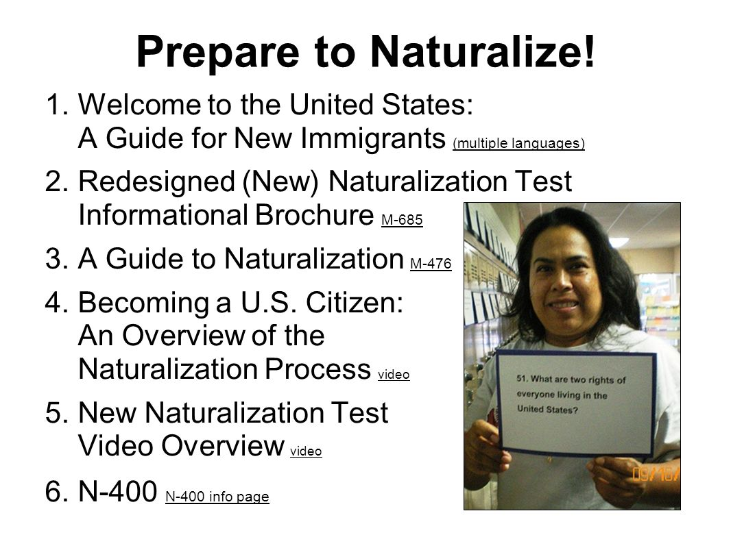 The Us Citizenship Interview