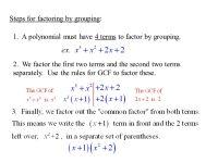 Printable Worksheets  Factoring Binomials Worksheets ...