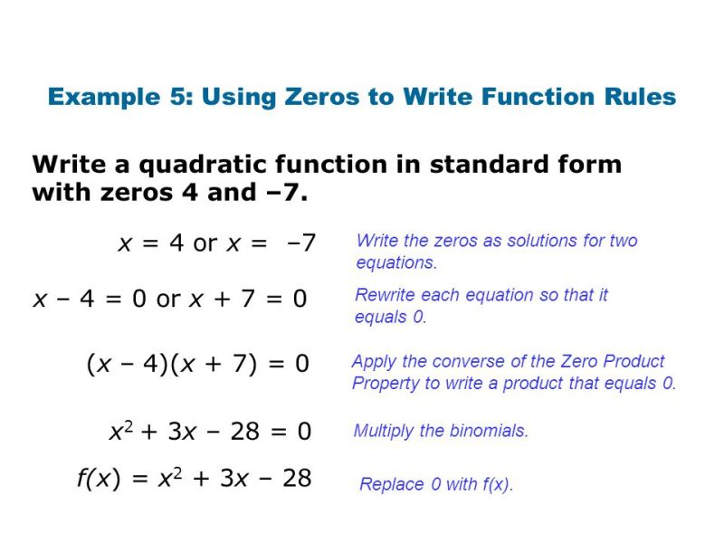 How To Write A Function In Standard Form Choice Image Free Form