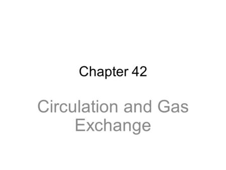 IGCSE, Respiration Structures for Gas Exchange. Gas