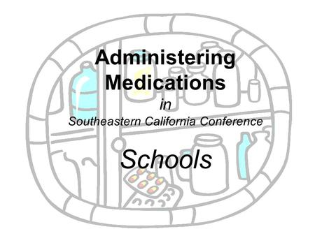 Vista Unified School District Health Services Medication