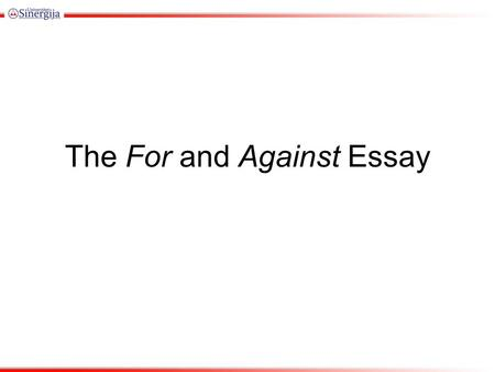 Argument and Persuasion: Claims, Counter-claims, Rebuttals