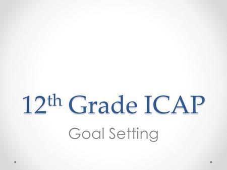 ICAP Training ppt download