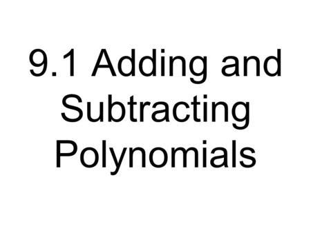 Holt McDougal Algebra Multiplying Polynomials Warm Up