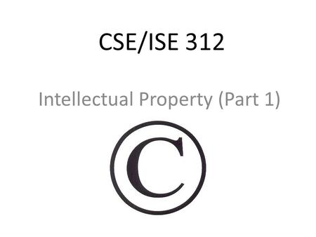 Finding the Balance: Intellectual Property in the Digital
