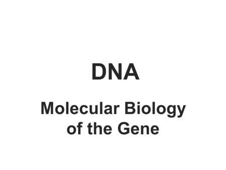 Nucleic Acids ECS129 Instructor: Patrice Koehl. Nucleic