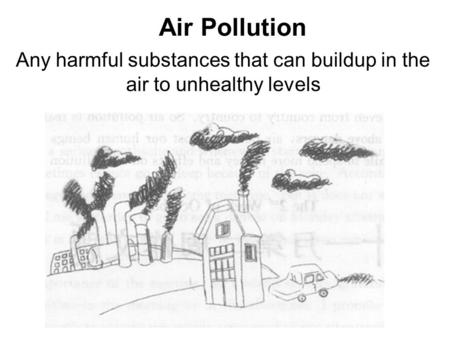 Air pollution. What is air pollution? Air pollution is the
