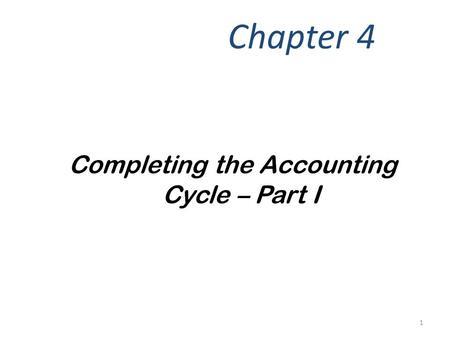 Chapter 5 The Balance Sheet