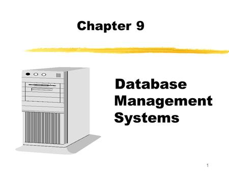 Objectives of database management system pdf