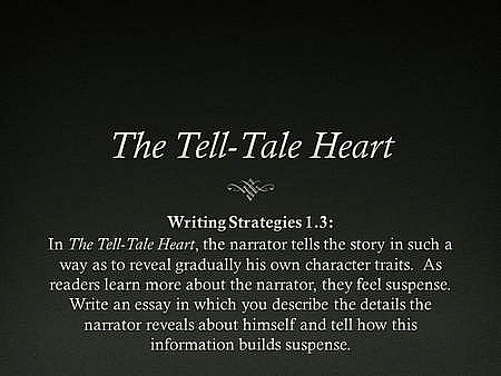 quotes from tell tale heart picture the telltale heart by edgar allan poe ppt video online essay formatessay format