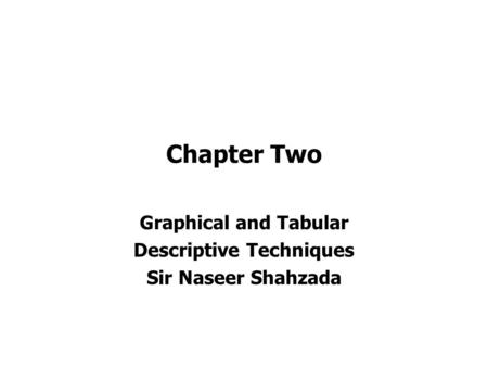 Chapter 1 Section 1 Introduction to the Practice of