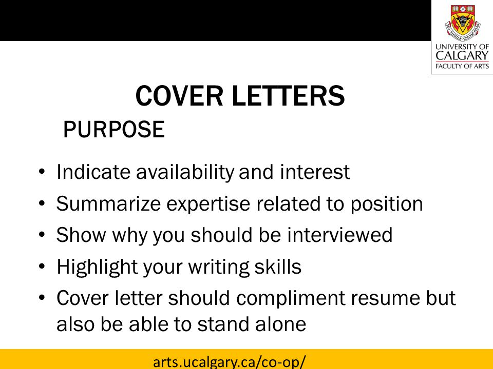 TARGETED COVER LETTERS  ppt video online download
