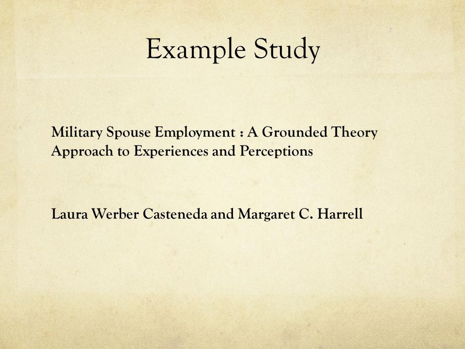 Grounded Theory Ppt Video Online Download