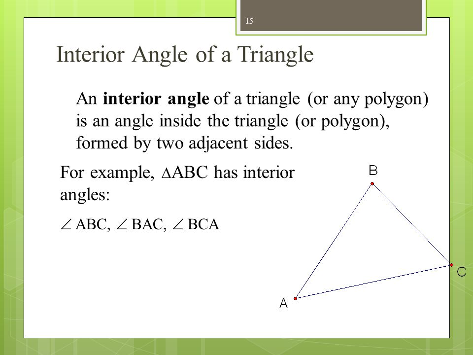 Triangle Fundamentals  ppt video online download