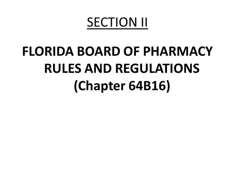 FLORIDA PHARMACY LAW REVIEW ppt download