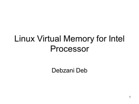 09 October Memory Addressing. 09 October Topics 1.x86