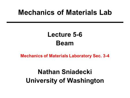 MECHANICS OF MATERIALS CHAPTER 6 Shearing Stresses in