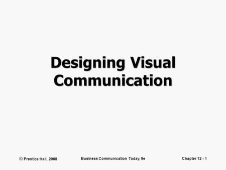 1 Designing Visuals Tables to organize lists of data