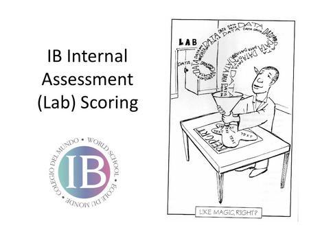 IB Internal Assessment (Lab) Scoring. DCP- Aspect 1