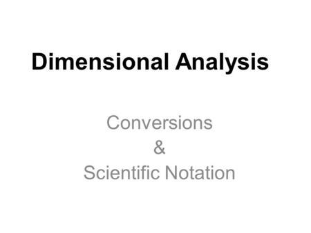 Metric Conversions & Rounding. SI Prefixes Chart