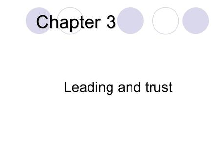 Chapter 4 Contingency Leadership Theories 1. Learning